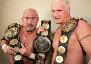 Photo of Keiji Mutoh & his friend   -