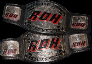 Image result for roh tag team championship belt